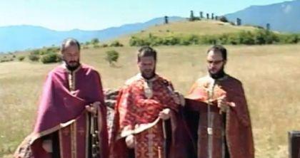 Служен парастос у Гаравицама