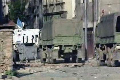 Kolona vozila JNA bila je pod pratnjom UNPROFOR-a