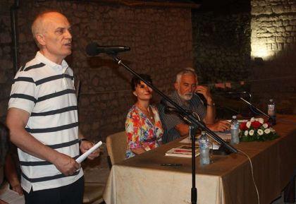 Promociju je vodio Milan Beli Bjelogrlić, direktor biblioteke u Zrenjaninu