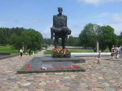 Spomenik u Katinu kod Minska