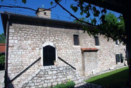 Stara pravoslavna crkva na Baščaršiji u Sarajevu