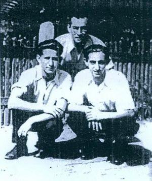Браћа Boroš: Jozef (убијени у Јасеновцу), Zoltan (десно) i Ignac (лијево)