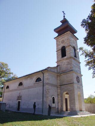 Храм Успениjа Пресвете Богородице у Ливну