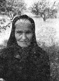 Marija Počuča, seljanka Divosela