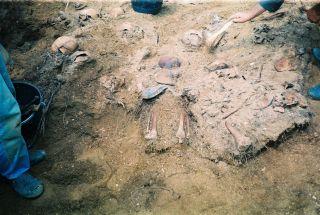 Откопавање костиjу на губилишту Пролог