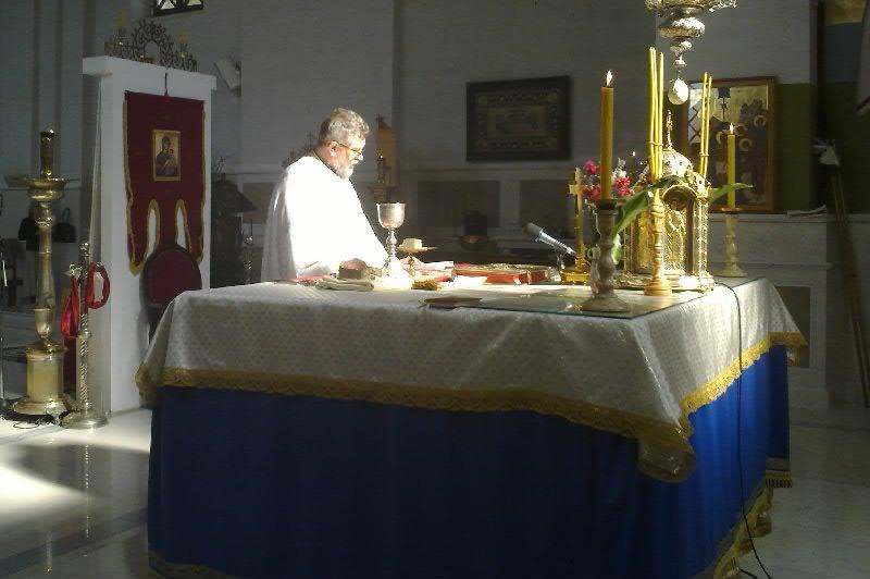 Парастос у Саборном Храму у Требињу.