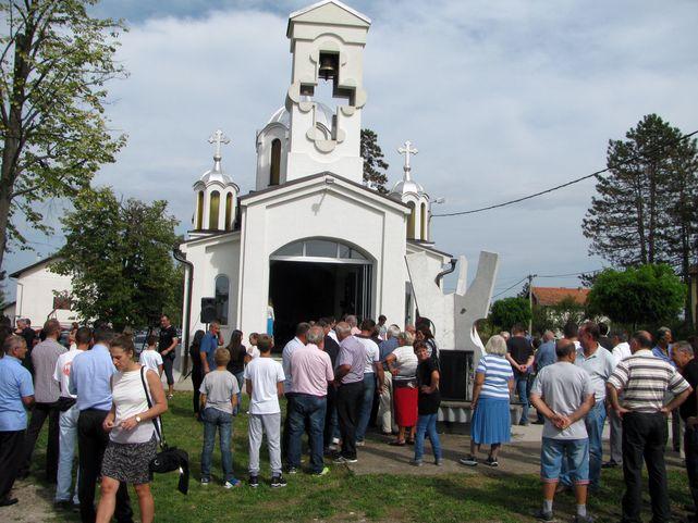 Služen parastos u spomen - kapeli u Bukviku