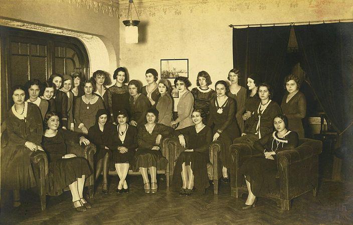 Priredba Drustva Knjeginje Ljubice u Auto klubu 1935