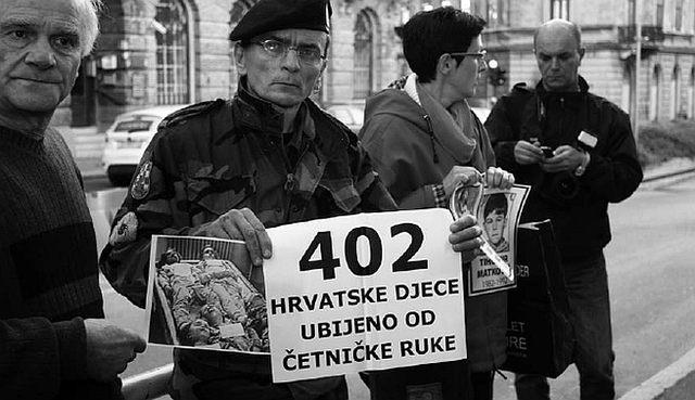 Prosvjed protiv održavanja predstave Aleksandra Zec u Rijeci (FOTO: SNV)
