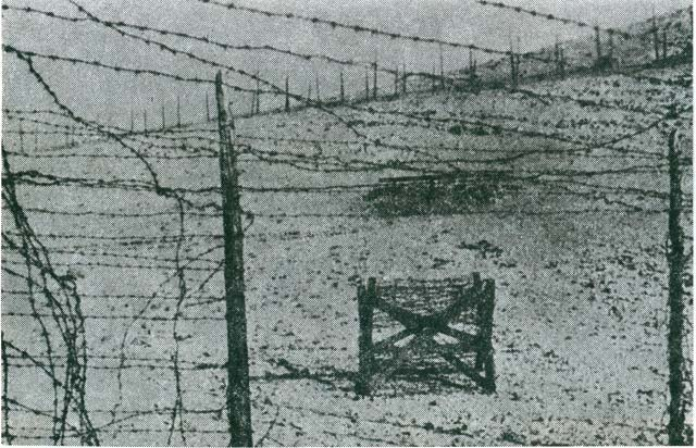 Entrance to the Serbian Camp (Italian photo, 1941).