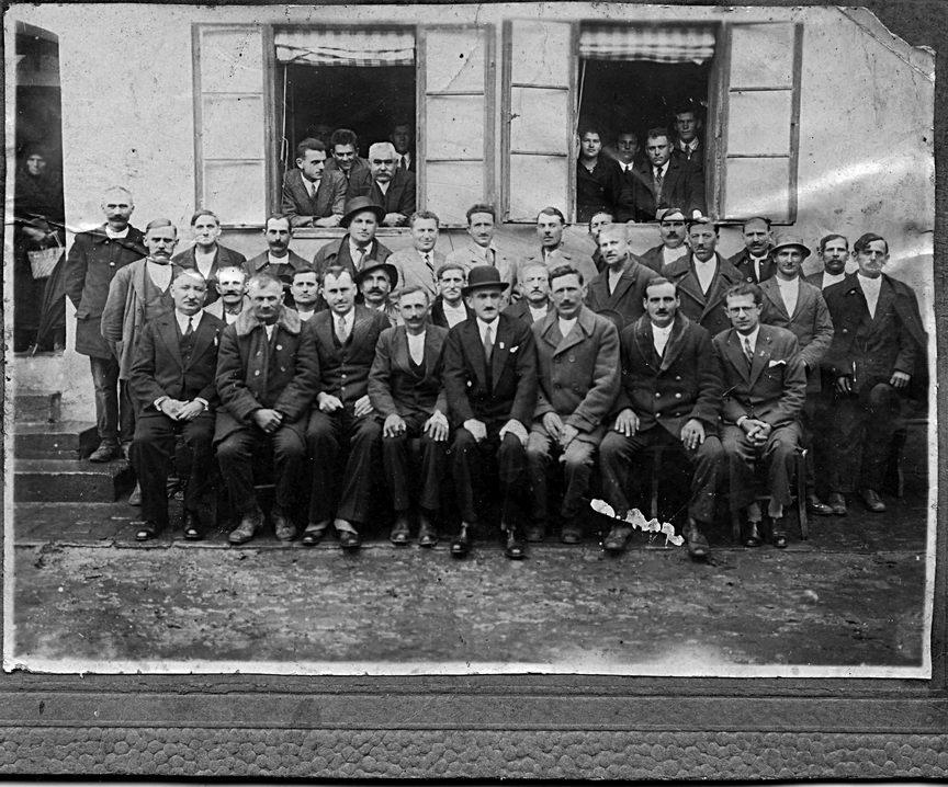 Službenici Općine Grubišno Polje, neposredno pred rat