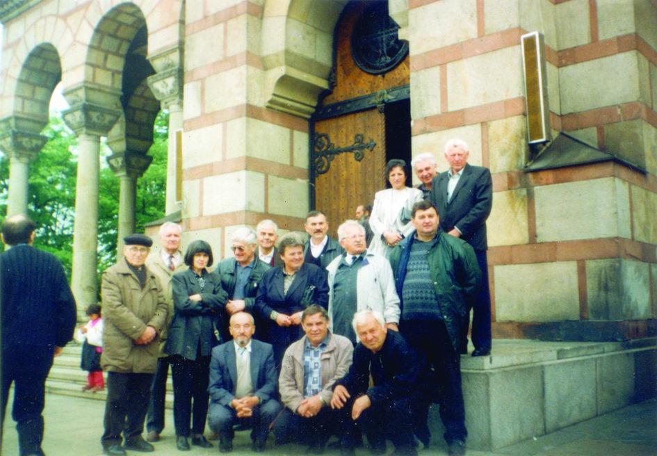 Obilježavanje šezdesotogodišnjice stradanja i parastos za stradale grubišnopoljske Srbe, u crkvi Svetog Marka u Beogradu 27. aprila 2001. godine