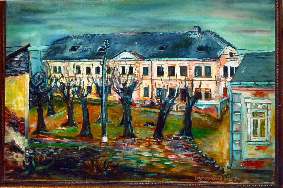 Crtež stare grubišnopoljske škole