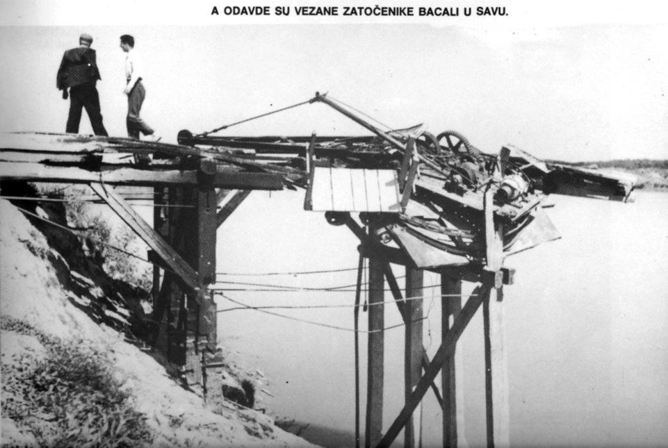 Granik, mjesto sa kojeg su vezane zatočenike bacali u Savu