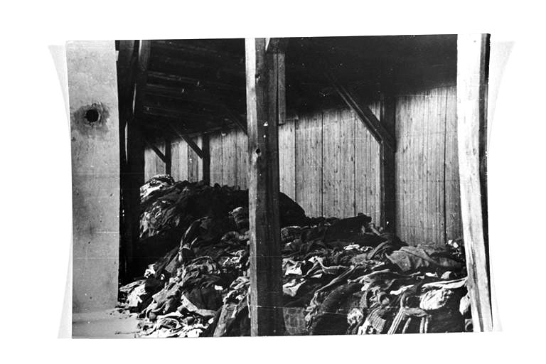 Odjeća sakupljena od ubijenih logoraša