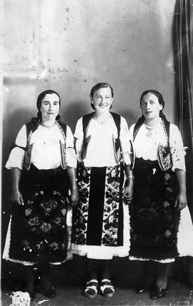 Narodna nošnja u zapadnoj Slavoniji