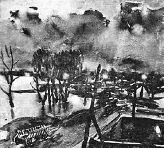 Danijel Ozmo: Jasenovac - Ulaz u Pakao, oficirsko naselje, hodnik maljeva i skela