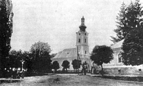 Park-logor u Grubišnom Polju, slika iz perioda između dva svjetska rata