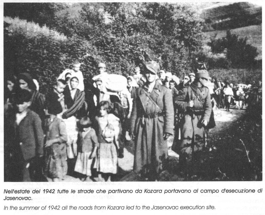 U ljeto 1942. svi putevi sa Kozare vodili su prema Jasenovcu