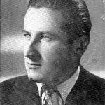 Милан Басташић, слика из Индекса Медицинског факултета Свеучилишта у Загребу, 1954. године