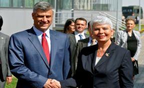 Јадранка Косор и Хашим Тачи