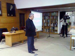 Бијељина - Дусан Бастасиц на предавању о комплексу логора Јадовно