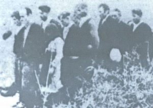 Преживjели из jаме Бикуше непосредно послиjе рата показуjу како су их водили на губилиште