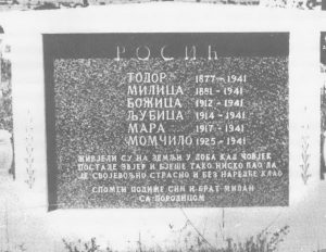 За сјећање на шесторо најближих, МИЛАН РОСИЋ је у Челебићу подигао лијеп споменик (занимљиво је да у минулим ратним сукобима деведесетих година нико није дирао овај споменик, а и на цијелом српском гробљу у Челебићу оштећена су, кажу, само два споменика и то од граната које су ту случајно завршиле)