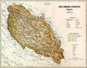 Lika-Krbava_County_Map