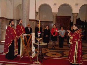 ПАРАСТОС ЗА ПОБИЈЕНЕ ГРУБИШНОПОЉСКЕ СРБЕ У ХРАМУ ХРИСТА СПАСИТЕЉА