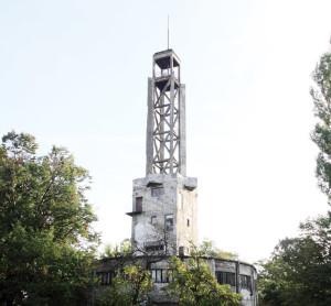 Кула на месту Старог сајмишта