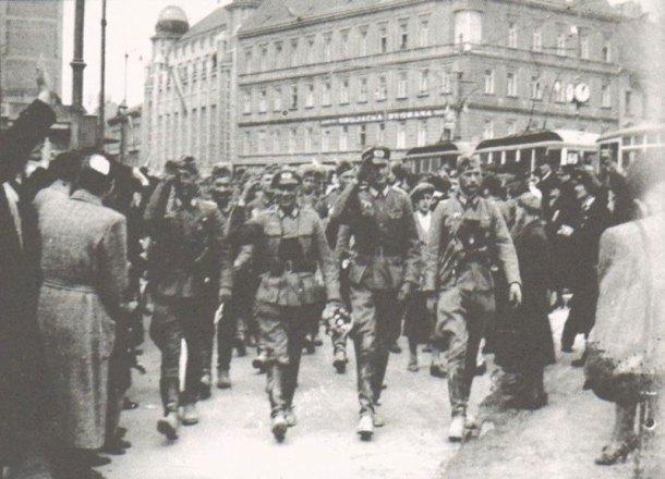 Улазак њемачке војске у Загреб