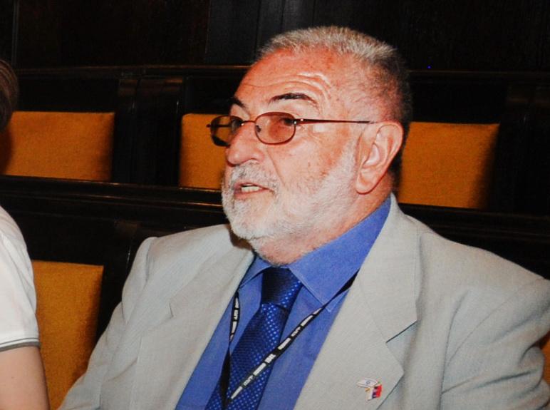 Aleksandar Nećak na Prvoj međunarodnoj konferenciji o Jadovnu u Banjaluci 2011.