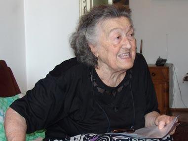 Мира Митровић, кћи проте Душана Митровића