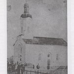 Слика 1: Црква у Црквеном Боку са старе разгледнице (Фото: Б. Турајлић)