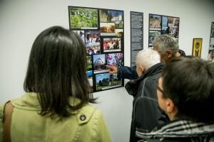 Детаљ са отварања изложбе