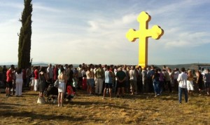 У Морполачи код Задра Срби повратници, уз помоћ цркве, подигли белег вере и наде