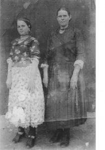 Љуба и Миља Каран, Црквени Бок ратне 1942. год.
