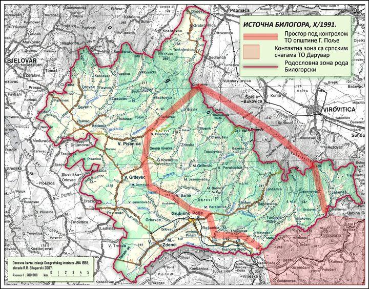 Српска насеља нападнута 31. октобра 1991