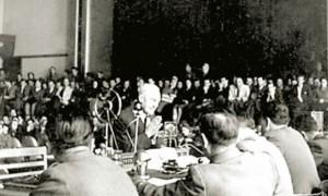 Лео Деак моли за милост на суђењу 1945.