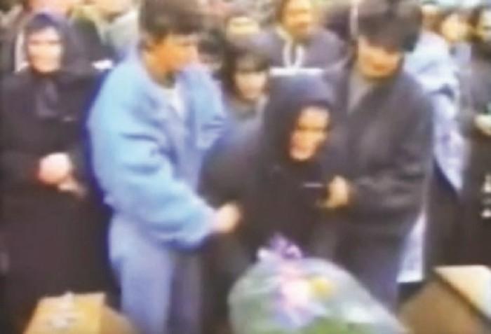 Sahrana ubijenih srpskih vojnika