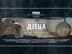 """Документарни филм Дениса Бојића """"Дјеца""""Фото: РТРС"""