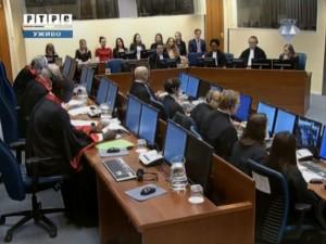 Изрицање првостепене пресуде Војиславу Шешељу Фото: РТРС