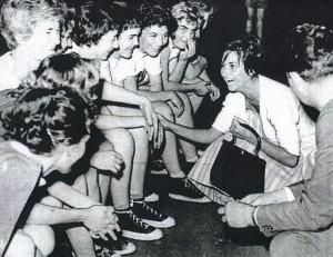 Ljubica u La Korunji sa košarkašicama Crvene zvezde
