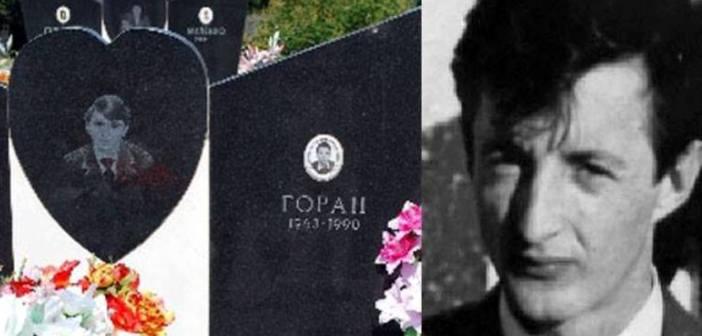 Прва жртва рата у Хрватској је Горан Алавања