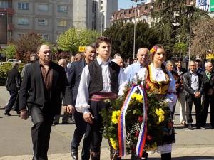 Бијељина: Полагање вијенаца Фото: СРНА