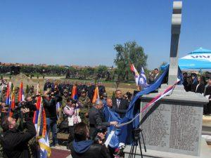 Бијељина - освештан споменик Фото: СРНА