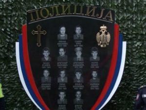 Зворник: Споменик убијеним припадницима МУП-а Фото: РТРС