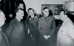 Павелић са Хитлером и Герингом