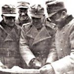 Marko Mesić (u sredini) kod Staljingrada